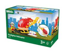 BRIO 63379700 Feuerwehr-Hubschrauber