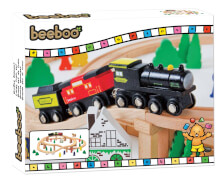 Beeboo Eisenbahn-Spielset 60-teilig