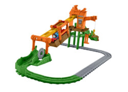 Mattel Thomas the Tank Adventures Misty Island Zipline