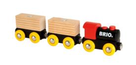 BRIO Classic Holz-Transportzug