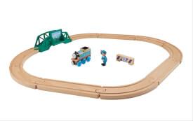 Mattel Thomas the Tank FHM64  ''Holzeisenbahn'' 5-in-1 Starter Set