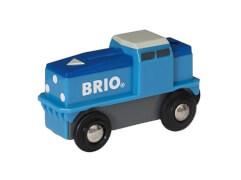BRIO 63313000 Blaue Batterie Frachtlok