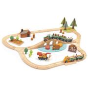 Tenderleaftoys - Eisenbahn Wald mit Zubehör