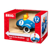 BRIO 63026400 Push & Go Airplane