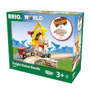 BRIO 63360200 Freight Station Bundle