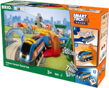 BRIO 63397200 Smart Tech Sound Action Tunnel Reisezug