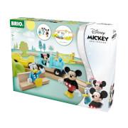 BRIO 63227700 Micky Maus Eisenbahn-Set