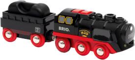 BRIO 63388400 Batterie-Dampflok mit Wassertank