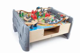Hape 70-teiliges Set Eisenbahn - Spieltisch
