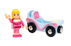 BRIO 63331400 BRIO Disney Princess Schneewittchen mit Waggon