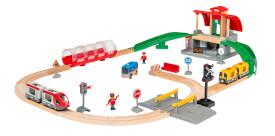 BRIO 63398900 BRIO Großes City Bahnhof Set