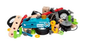 BRIO 63459500 BRIO Builder Nachziehmotor-Konstruktionsset