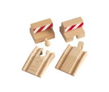 BRIO 63338500 Rampen & Prell-Bock Pack
