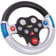 BIG Rescue-Sound-Wheel, Kunststoff, ca. 19x19x11 cm, Kunststoff, silber, ab 12 Monate