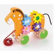 Viga Ziehtier Pferd mit Zahnradspiel