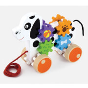Viga Ziehtier Hund mit Zahnradspiel