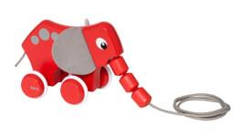 BRIO 63018600 Nachzieh-Elefant