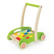 Hape Bau-Wagen Lernlaufwagen