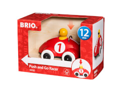 BRIO 63022600 Push & Go Rennwagen