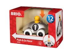BRIO 63023200 Push & Go Rennwagen Silber D