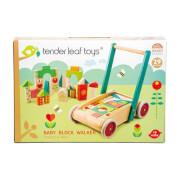 Tenderleaftoys - Lauflernwagen mit Klötzen