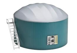 Country Life Biogasanlage für siku