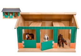 Country Life Pferdestall mit 2 Boxen und Werkstatt