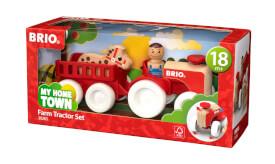 BRIO 63026500 Traktor mit Pferde-Anhänger