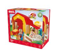 BRIO 63039800 Mein großer Bauernhof