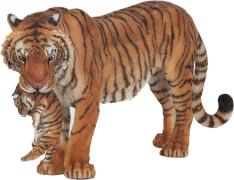 Papo 50118 Tigerin mit Jungtier