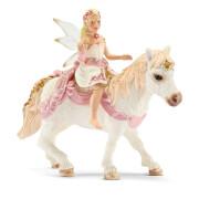 Schleich Bayala - 70501 Lilienzarte Elfe auf Pony reitend, ab 5 Jahre