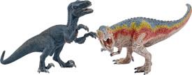 Schleich Dinosaurs 42216 T-Rex und Velociraptor, klein