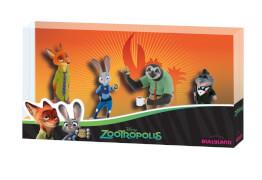 Bullyland  Walt Disney Zoomania Geschenkbox 4 Spielfiguren