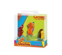 Bullyland  Der kleine Drache Kokosnuss Kokosnuss 3 Spielfiguren in Box
