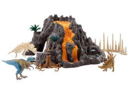 Schleich Dinosaurs 42305 Riesenvulkan mit T-Rex