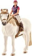 Schleich Horse Club - 42359 Freizeitreiterin mit Pferd, ab 3 Jahre
