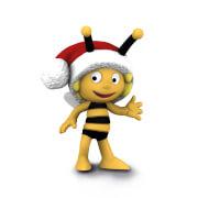Schleich Die Biene Maja 27007 Maja mit Weihnachtsmütze