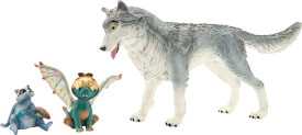 Schleich bayala 70710 MOVIE Lykos, Nugur & Piuh