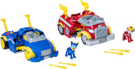 Spin Master Paw Patrol Mighty Pups Power Changing Vehicle, sortiert
