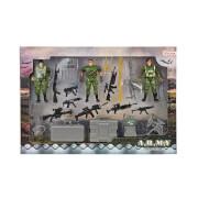 TOITOYS ARMY Spielset Militär mt 3 Soldaten und Zubehör