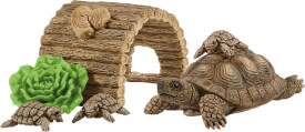 Schleich Wild Life 42506 Zuhause für Schildkröten