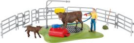 Schleich 42529 Farm World Kuh Waschstation