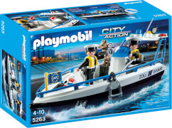 Playmobil 5263 Zollboot