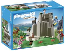 Playmobil 5423 Kletterfelsen mit Gebirgstier