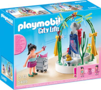 PLAYMOBIL 5489 Dekorateurin mit LED-Podest