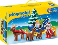 PLAYMOBIL 6787 Weihnachtsmann mit Rentierschlitten