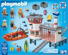 PLAYMOBIL 5539 Küstenwachstation mit Leuchtturm