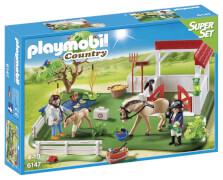 Playmobil 6147 Super Set Koppel mit Pferdebox
