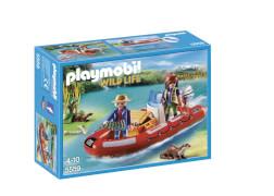 Playmobil 5559 Schlauchboot mit Wilderern