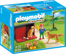 Playmobil 6134 Golden Retriever mit Welpen